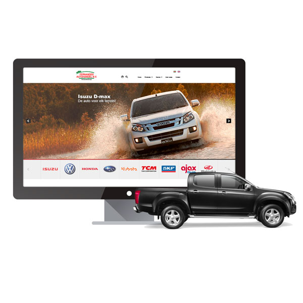 Fernandes Automotive Corporate Website