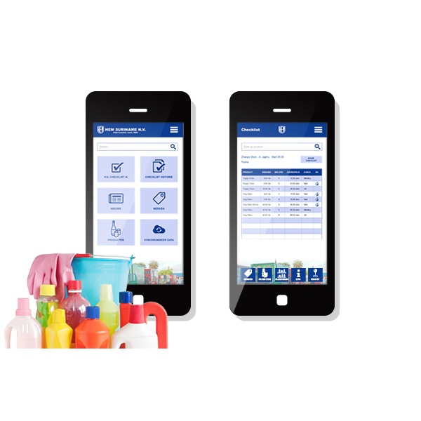 Hem Merchandising app